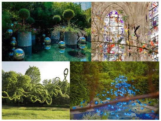 Carmes sortie au festival des jardins a chaumont sur for Festival des jardins 2016